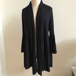 Bailey 44 pleated open cardigan-size Large